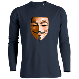 T-shirt manches longues 3D ANONYMOUS