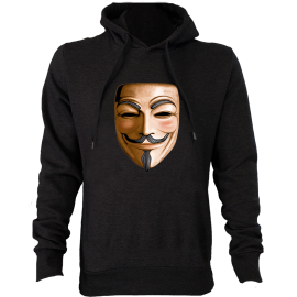 Sweat à capuche 3D ANONYMOUS