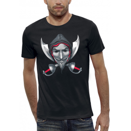 T-shirt 3D ANONYMOUS CREED