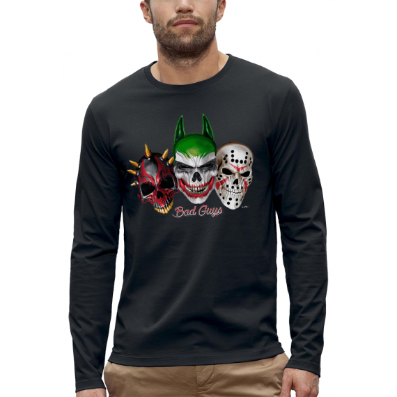 T-shirt ML 3D BAD GUYS