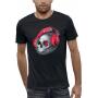 T-shirt 3D CRANE CASQUE DJ BEATS