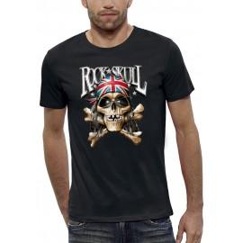 T-shirt 3D ROCK SKULL