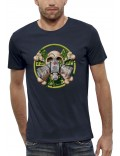 T-shirt 3D TÊTE DE MORT RADIOACTIVE