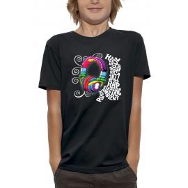 T-shirt 3D CASQUE DJ SAMPLE