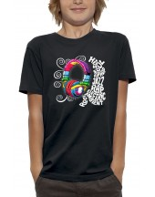 T-shirt CASQUE DJ SAMPLE