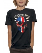 T-shirt TÊTE DE MORT ROCK N ROLL UK