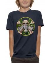 T-shirt TÊTE DE MORT RADIOACTIVE