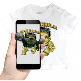 T-shirt Bébé 3D LITTLE HULK