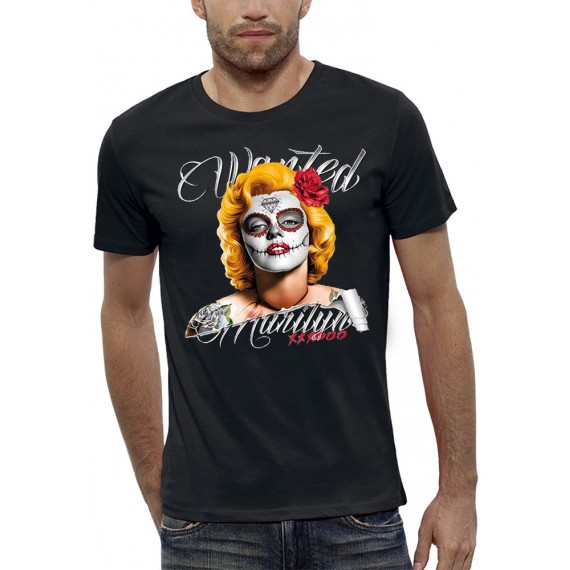 T-shirt 3D WANTED MARILYN