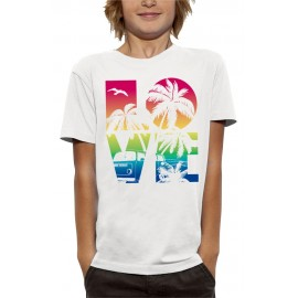 T-shirt LOVE BEACH