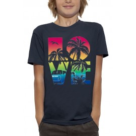 T-shirt 3D LOVE BEACH