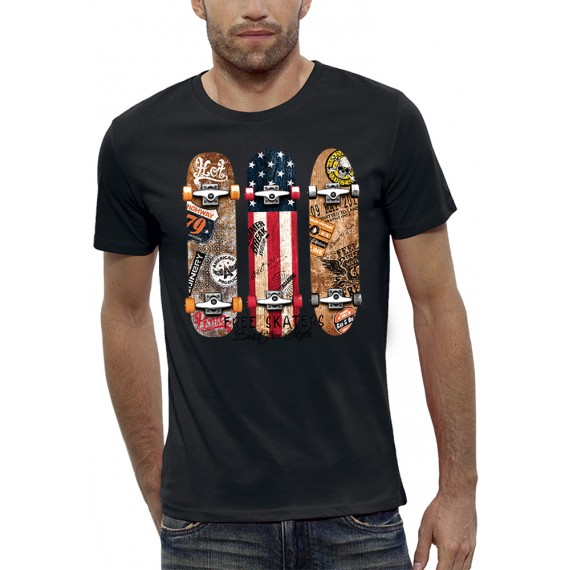 T-shirt FREE SKATERS