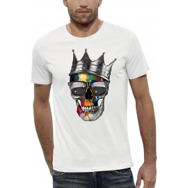 T-shirt CRANE COURONNE ROYAL