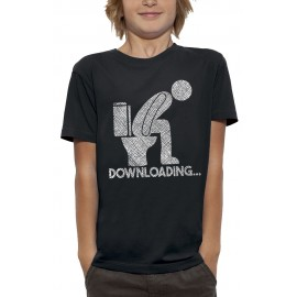 T-shirt DOWNLOADING