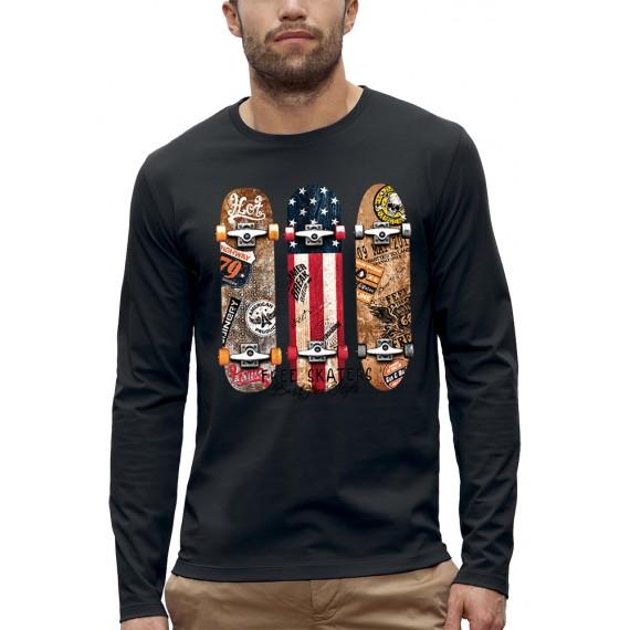 T-shirt ML FREE SKATERS