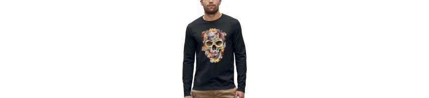 T-shirt ML CRANE FLEURS