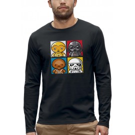 T-shirt ML 4 MINI STAR WARS