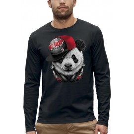 T-shirt ML DJ PANDA HIP HOP