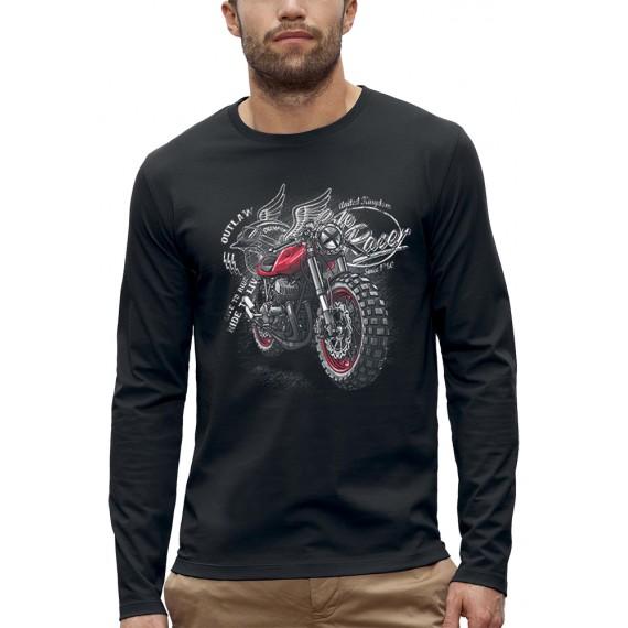 T-shirt ML MOTO RACER