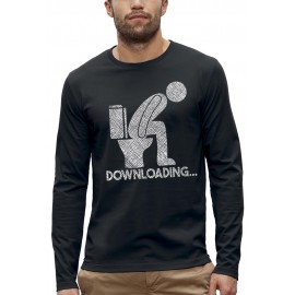 T-shirt ML DOWNLOADING