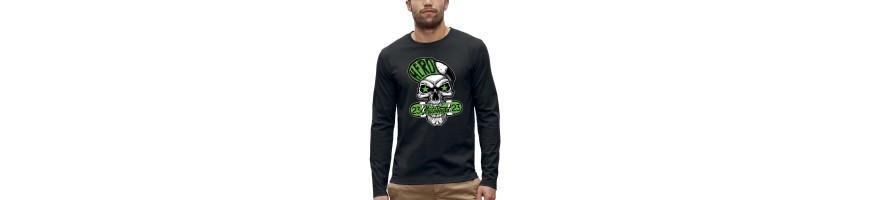 T-shirt ML CRANE HERO SKATEBOARD