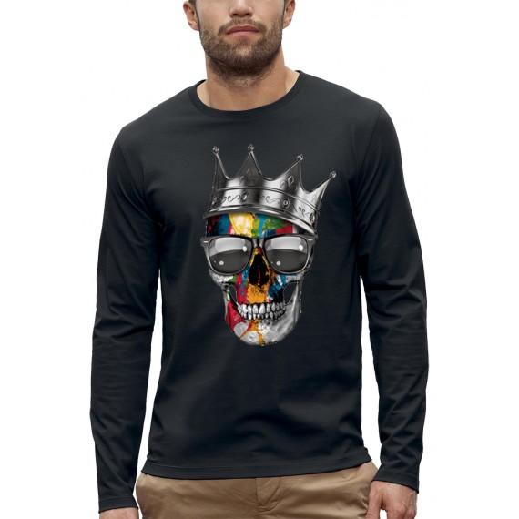 T-shirt ML CRANE COURONNE ROYALE