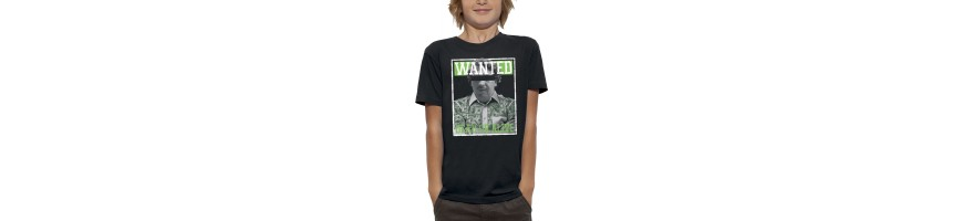 T-shirt WANTED PABLO ESCOBAR