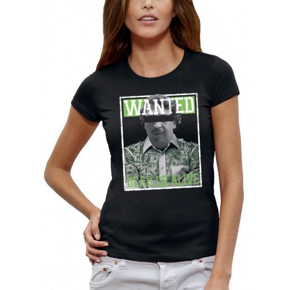 T-shirt WANTED PABLO ESCOBAR