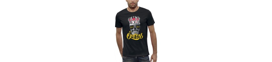 T-shirt GOD SAVE THE QUEEN