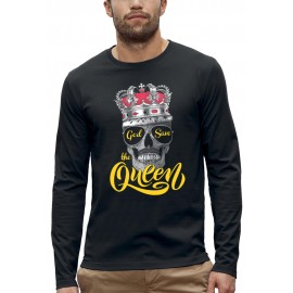 T-shirt ML GOD SAVE THE QUEEN