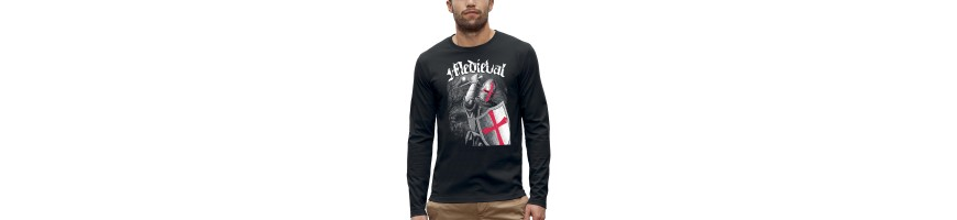 T-shirt ML CHEVALIER MEDIEVAL