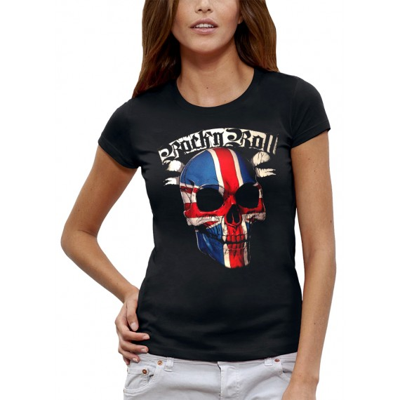 T-shirt ROCK N ROLL UK