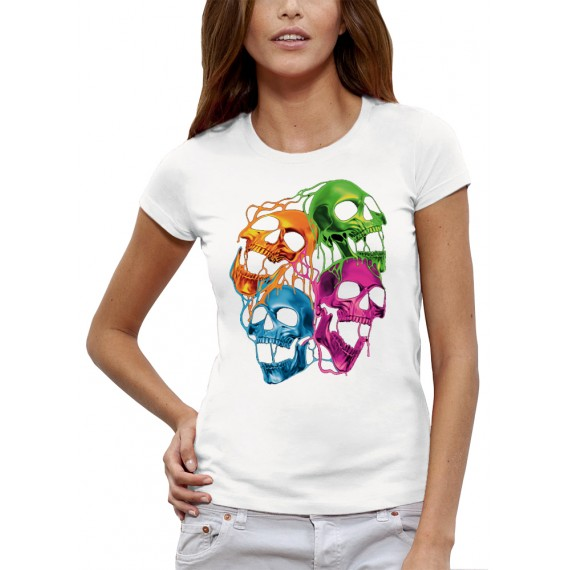 T-shirt CRANES FLUORESCENTS
