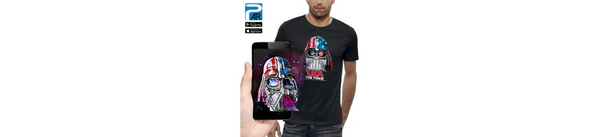 T-shirt 3D DARK VADOR USA