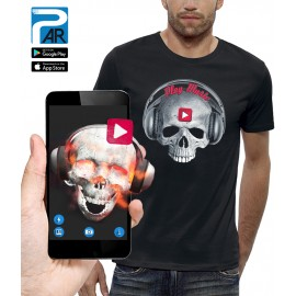 T-shirt 3D CRANE PLAY MUSIC