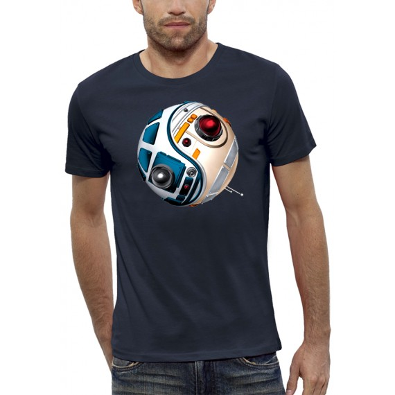 T-shirt 3D DROIDES D2R2 VS BB8