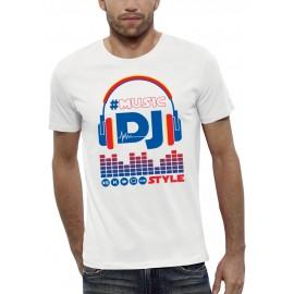 T-shirt 3D CASQUE DJ STYLE
