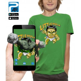 T-shirt 3D LITTLE HULK