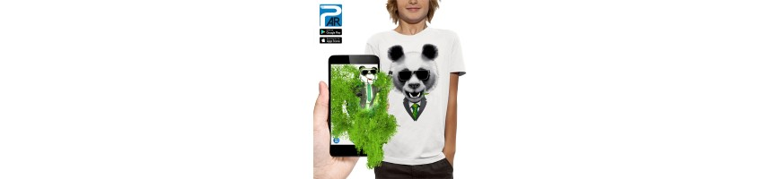 T-shirt 3D PANDA
