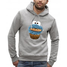 Sweat à capuche 3D COOKIE MONSTER