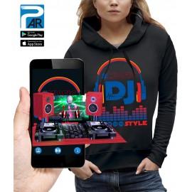 Sweat 3D CASQUE DJ STYLE