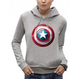 Sweat 3D BOUCLIER CAPTAIN AMERICA