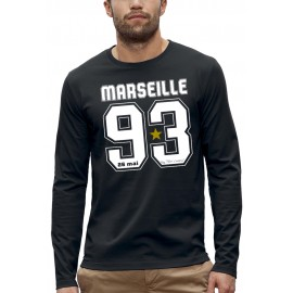 T-shirt ML 3D MARSEILLE 93