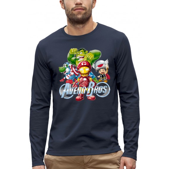 T-shirt ML 3D 4 AVENGERS BROS