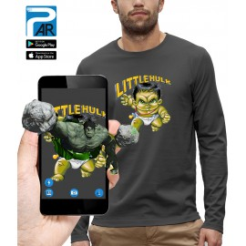 T-shirt ML 3D LITTLE HULK