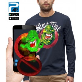 T-shirt ML 3D SOS FANTOMES