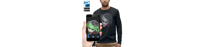T-shirt ML 3D THE JOKER