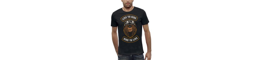 T-shirt OURS BIKERS