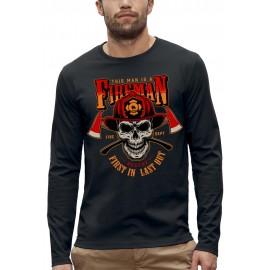 T-shirt ML FIREMAN