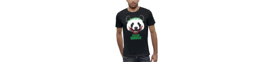 T-shirt PANDA WHY SO SERIOUS